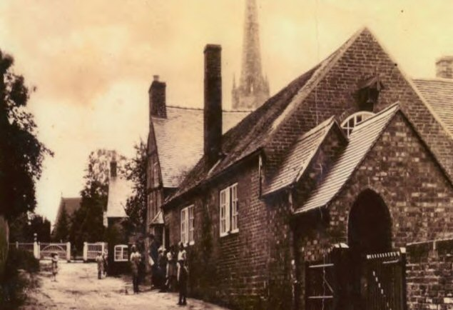 Village Hall - old picture